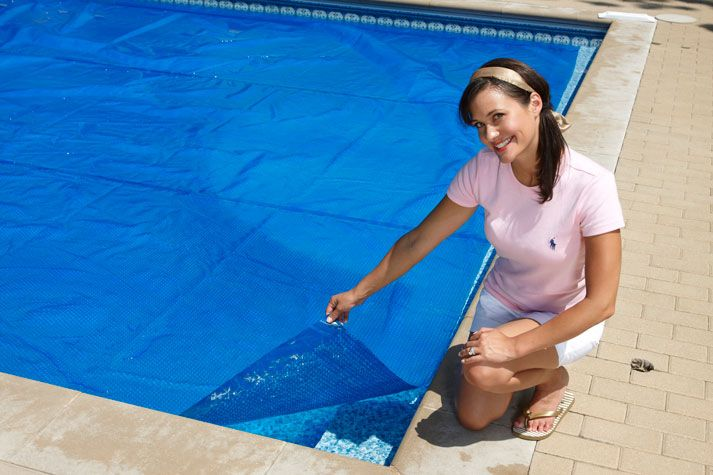 Solar Pool Covers Help Retain Heat And Eliminate Premature Evaporation Of Pool Chemicals A
