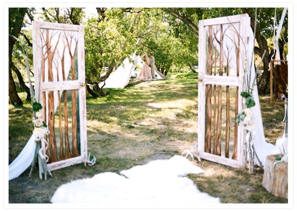 Garden Wedding Entrance Ideas Garden Wedding Decoration Ideas