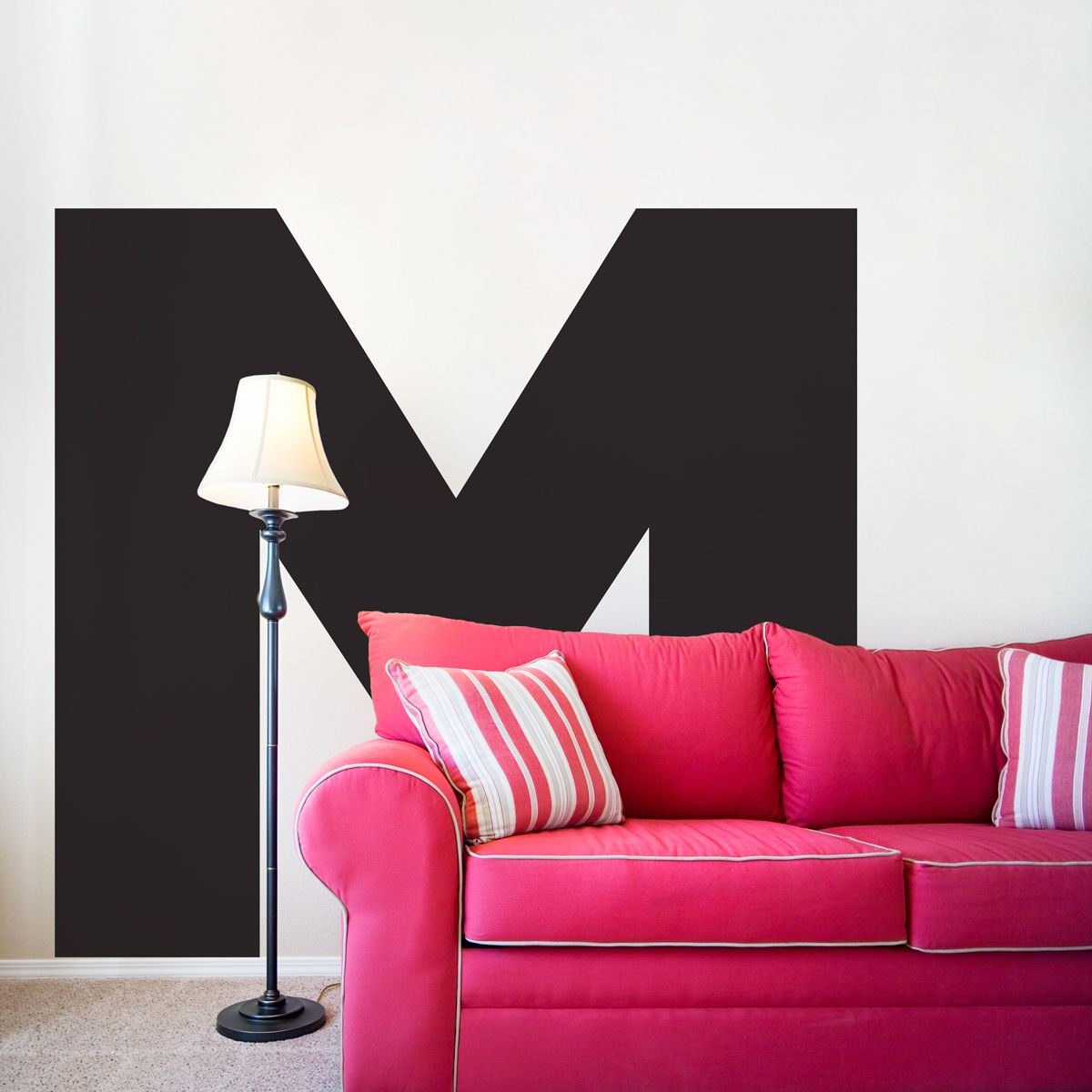Large Letter Wall Decal - Pretty much perfect for absolutely any room, even  a studio