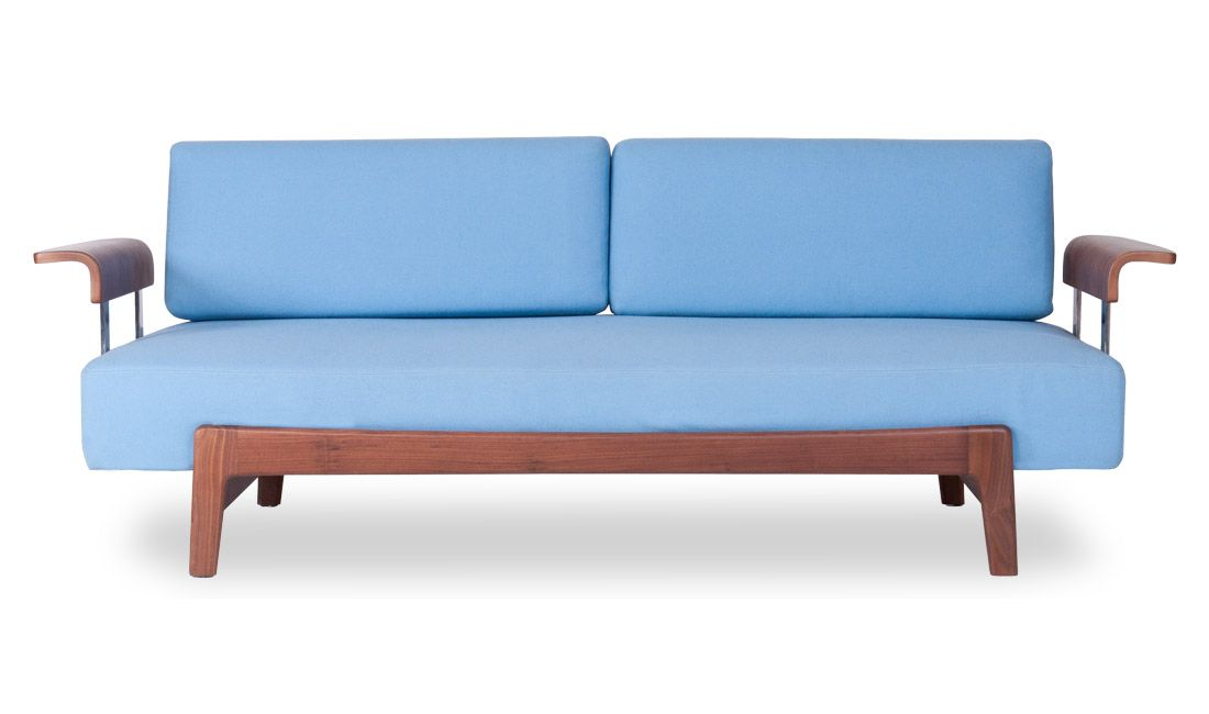 Blue 2 seater sofa as second sofa in the living room. | Hus ...