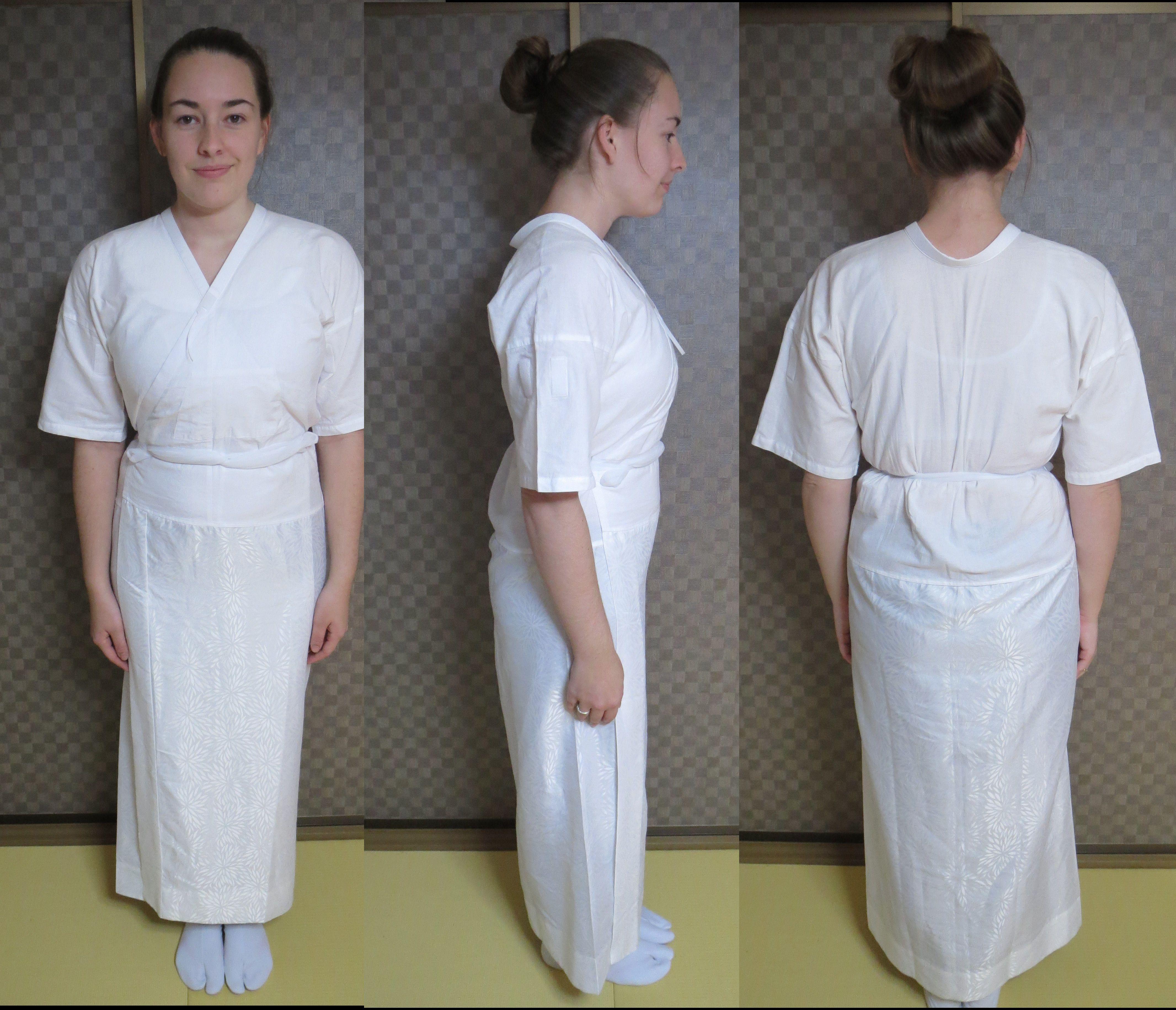 00aeaf75dd Juban and padding to be worn under a Kimono   japanese fashion too ...