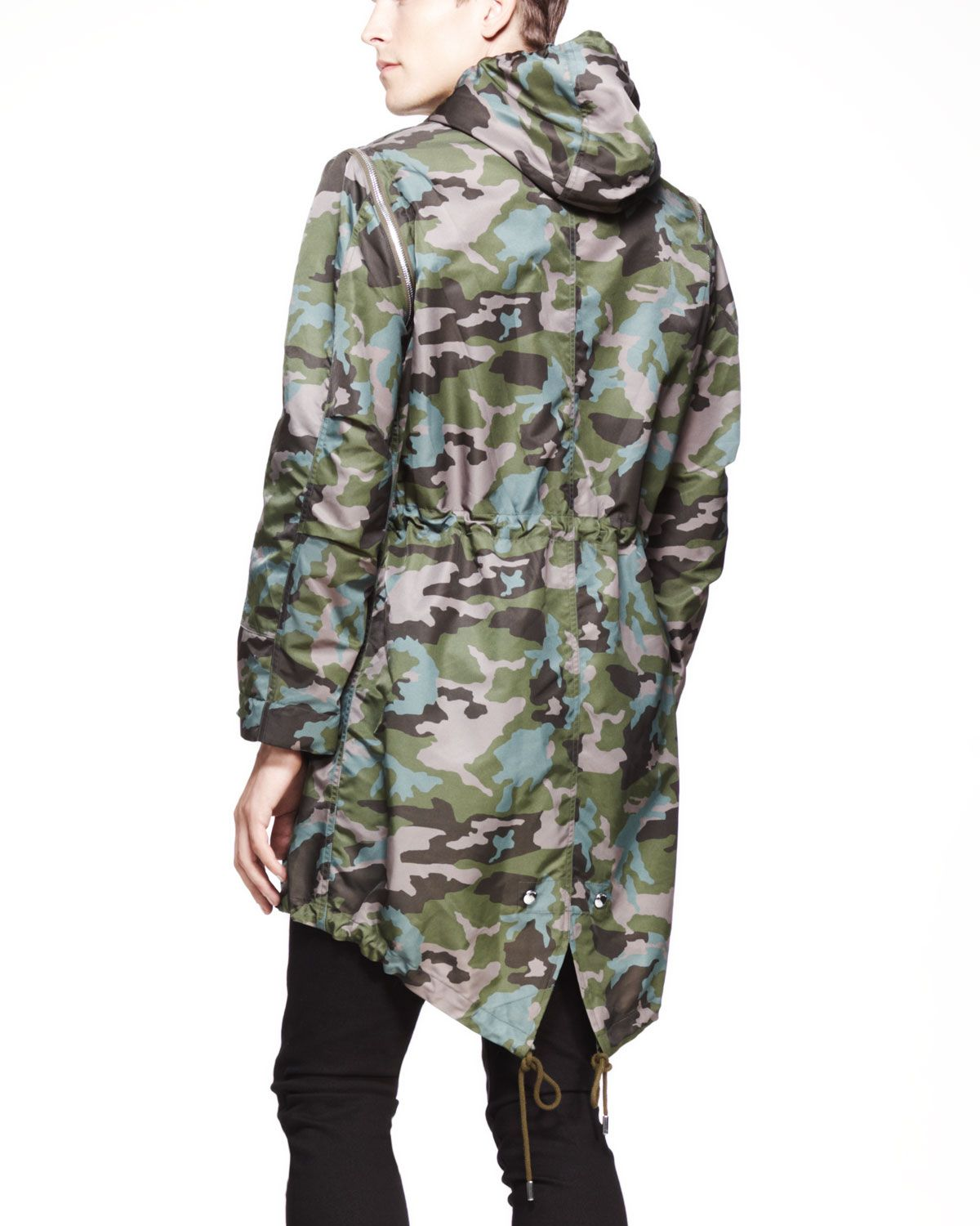 Givenchy Fishtail Parka | references 01 | Pinterest | Fishtail parka