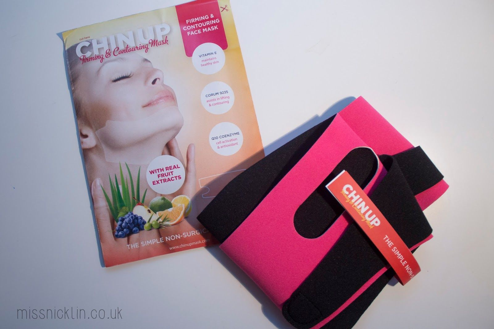 'The Facelift Without Surgery' ChinUp Mask Review