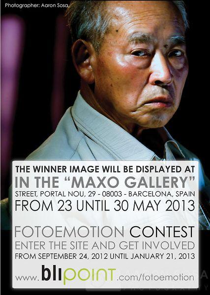 Imagen del Concurso FOTOEMOTION de Blipoint. 2012, A nivel mundial
