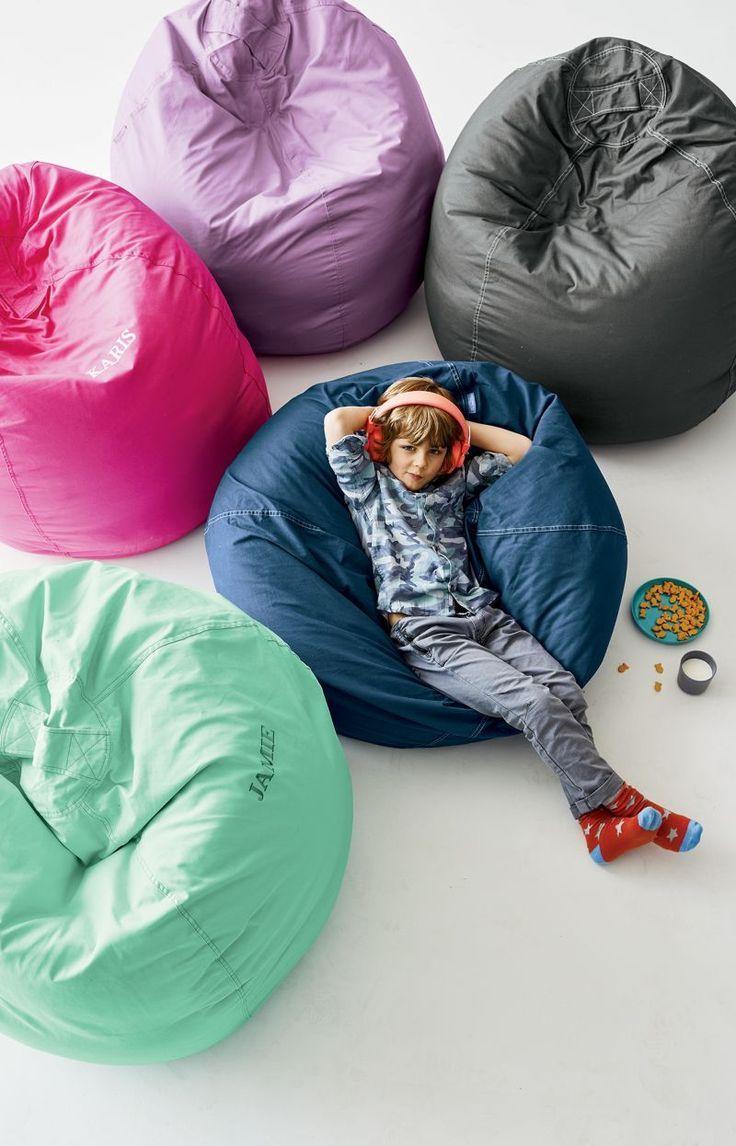 Large Dark Pink Bean Bag Chair in 2020 Bean bag chair