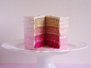 Pink Ombre Cake • Hellocoton.fr