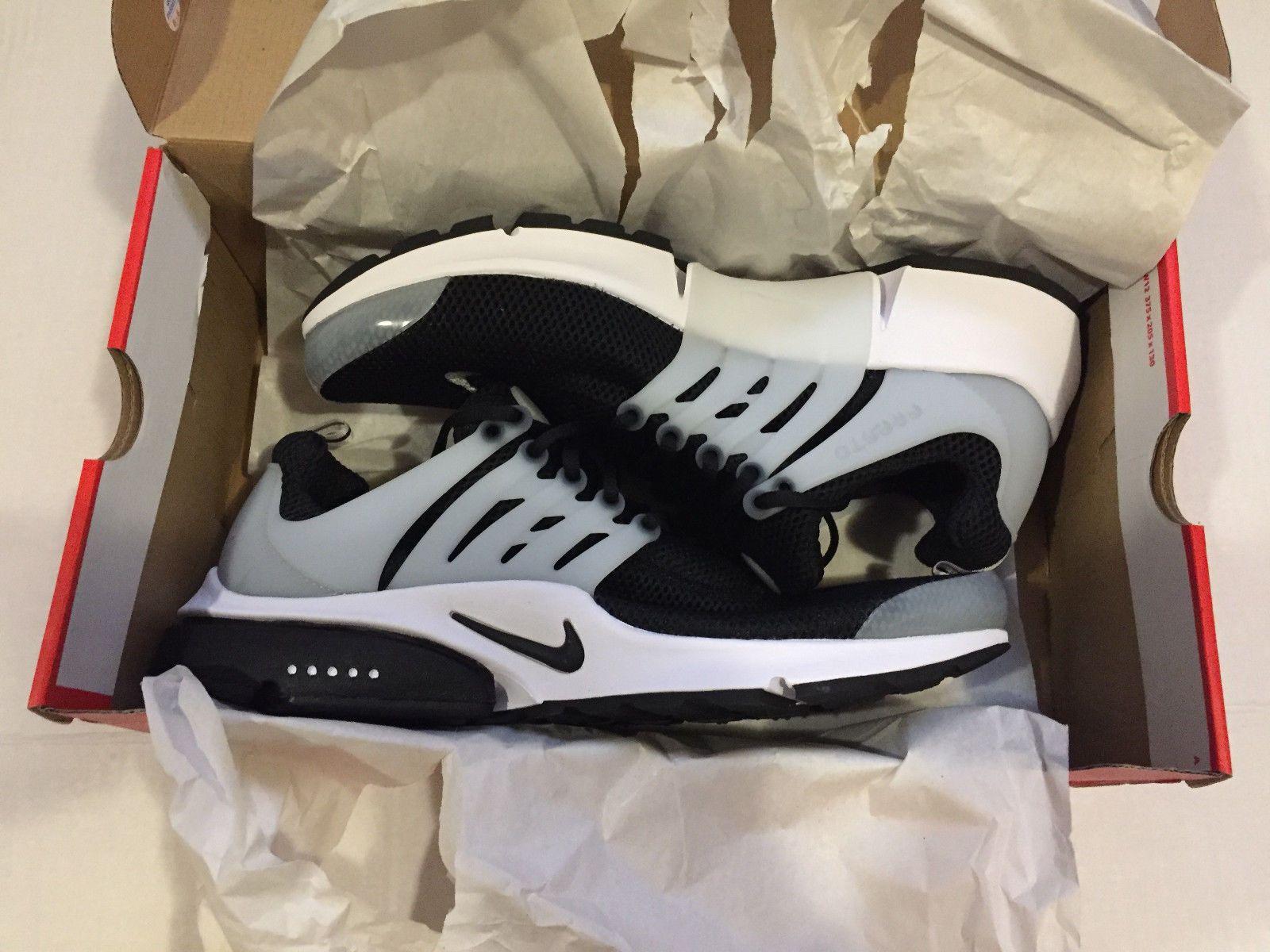 pretty nice 5240a c76a3 Nike Air Presto - Black Black-White-Neutral Grey Size 13 - New - 848132 010    Men s Shoes   Pinterest   Nike air presto black, Shoes and Nike air