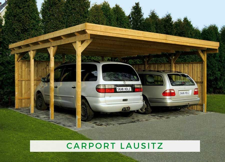 Doppelcarport Lausitz 554 x 550 cm Carports, Carport und