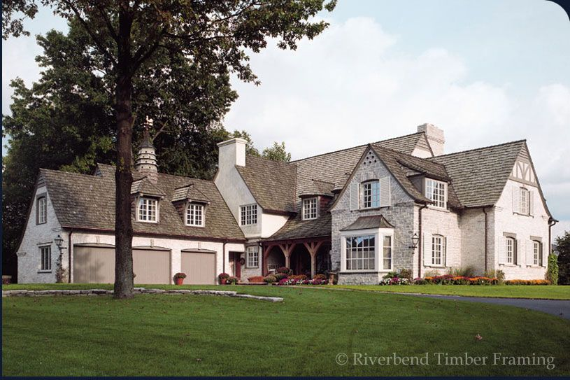 Timber Frame, Front Exterior, Home - Visit riverbendtf.com | Home ...