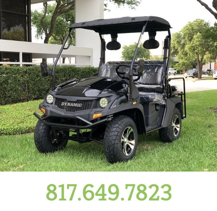 Black Fully Loaded Cazador OUTFITTER 200 Golf Cart 4