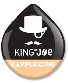 KING OF JOE CAPPUCCINO T-DISC 16 COUNT - http://thecoffeepod.biz/king-of-joe-cappuccino-t-disc-16-count/