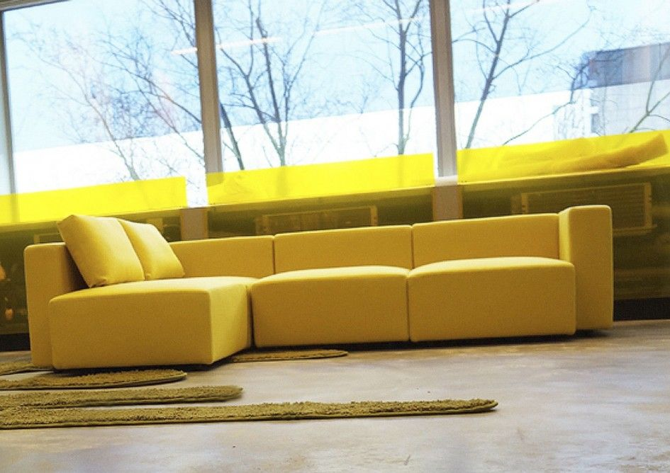 Brighten Up Your Living Room With 2016 Stunning Yellow Sofa