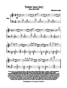easy piano pop songs sheet music free