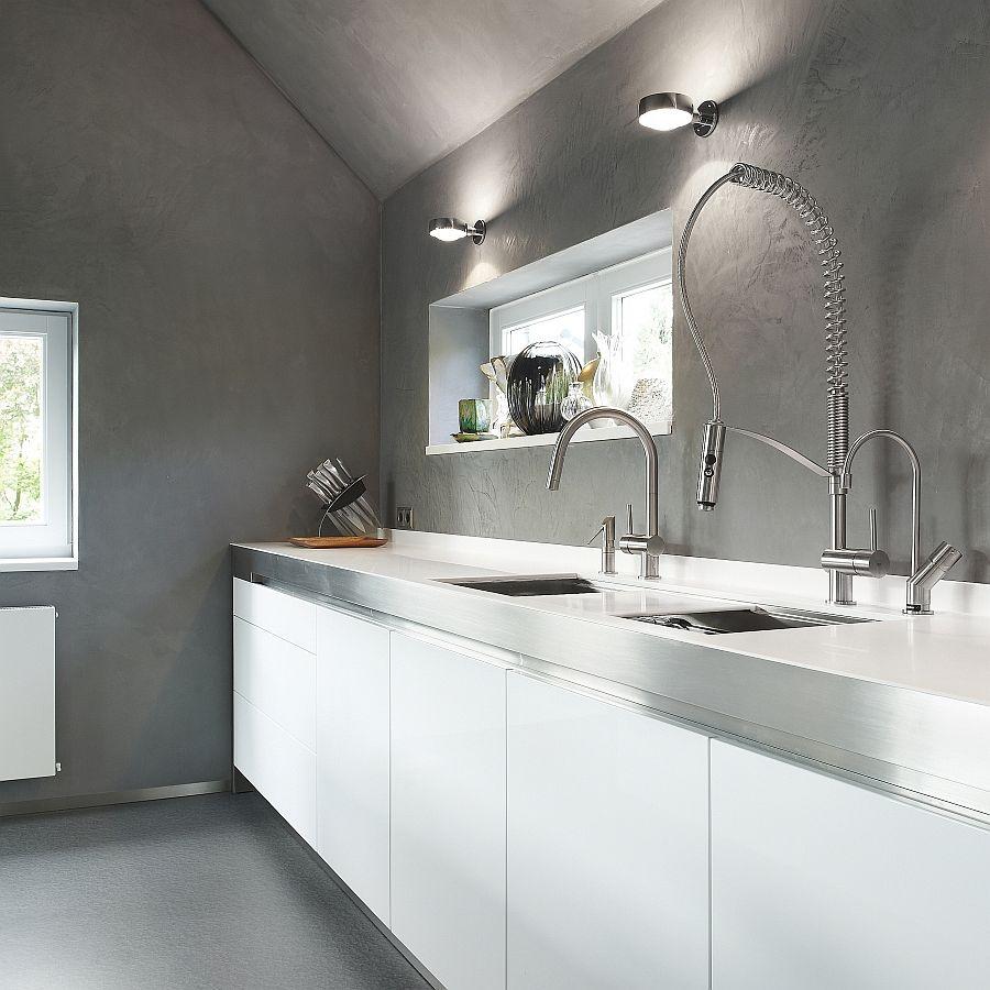 Exquisite Kitchen Faucets Merge Italian Design With Elegant ...