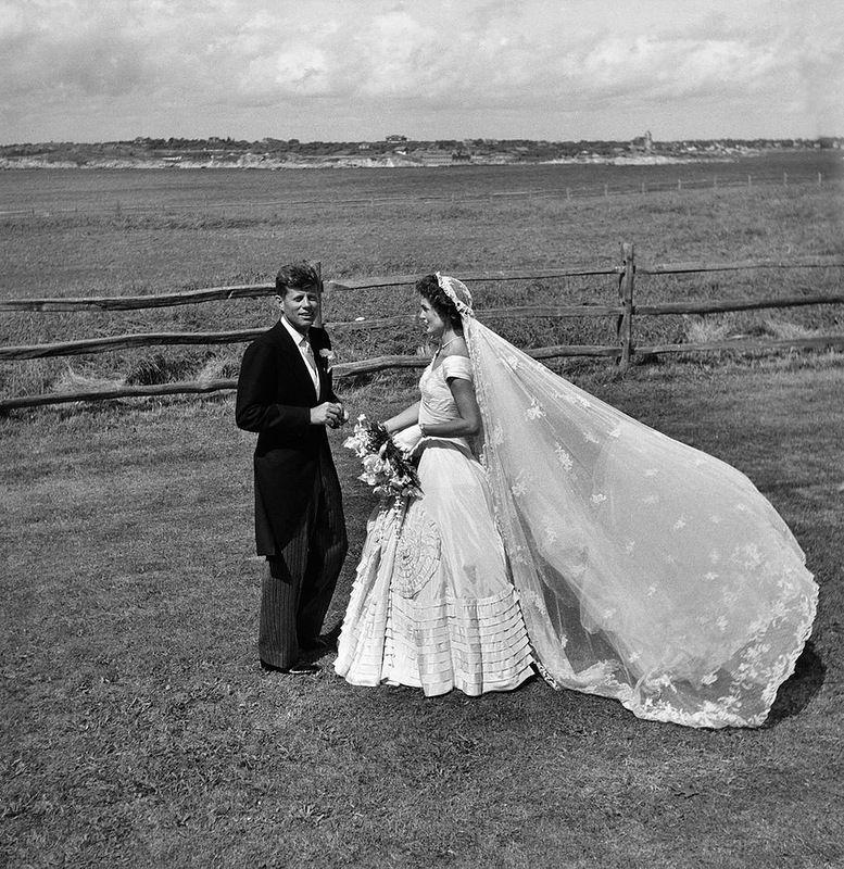 Kennedy Jacqueline Bouvier Wedding JFK Newport RI New 8x10 Photo John F