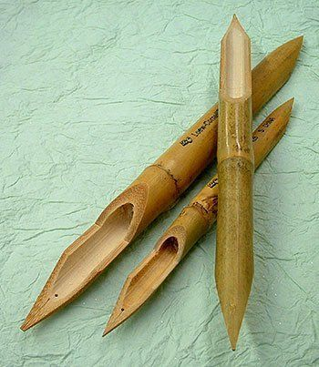 Set of 3 Bamboo Reed Pens by FineArtStore, http://www.amazon.com/dp/B000EJVUUG/ref=cm_sw_r_pi_dp_nuTlrb10S0RQ5