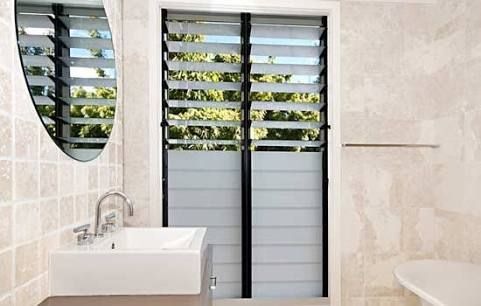 Image result for frosted glass louver windows (With images ...