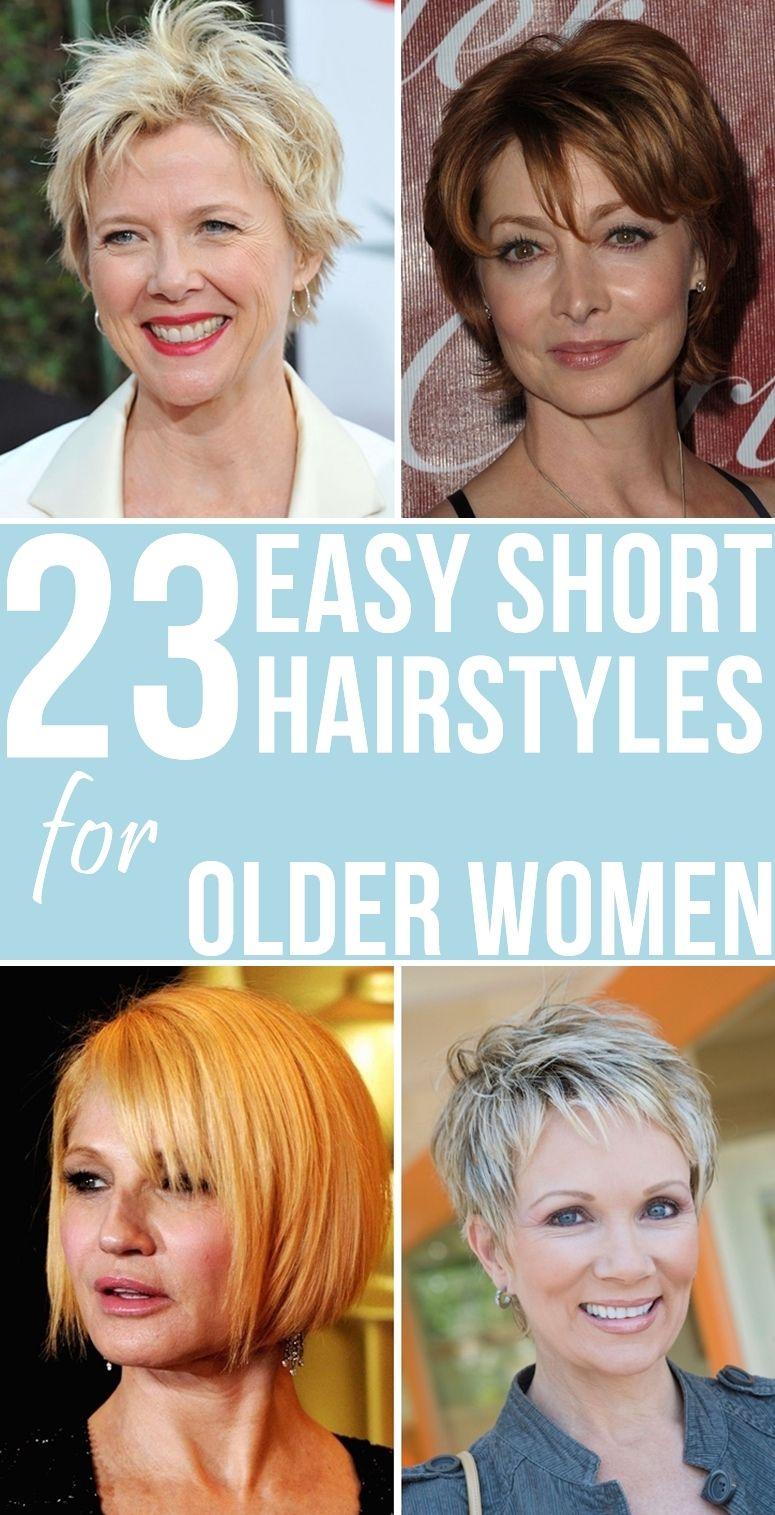 36+ Short haircuts for older women ideas