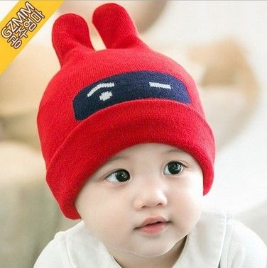503078ff686 Click to Buy    6-24 Month Baby Hats Infant Cartoon Spring Summer ...