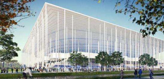 Nouveau stade de Bordeaux 42000 Euro 2016