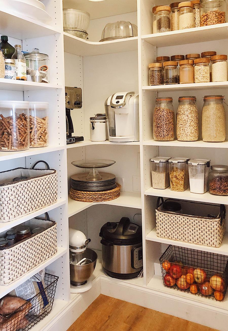 Pantry Organization + Grocery Planning.