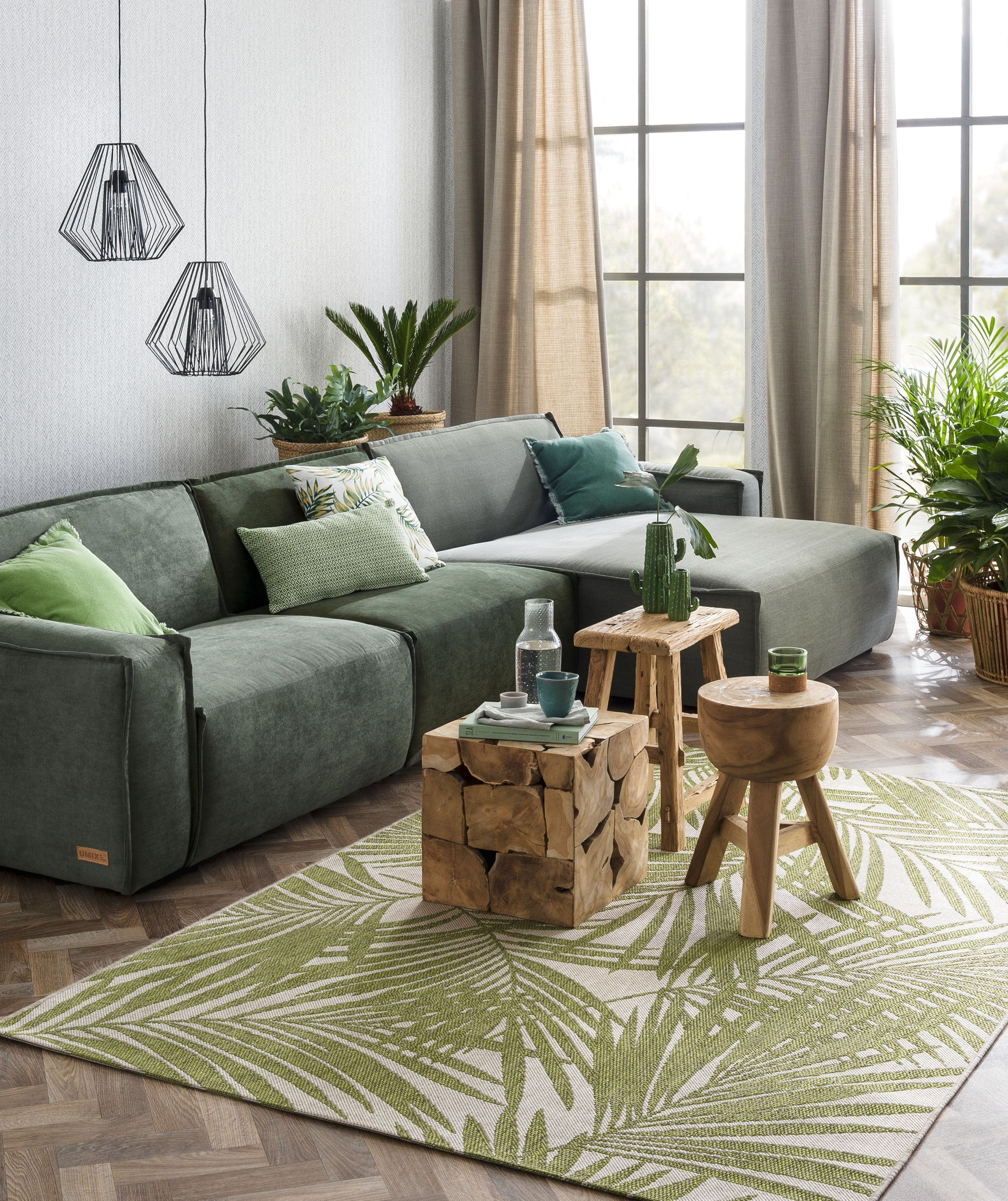 Trend 5x doen met groen  Interior Design  Huis