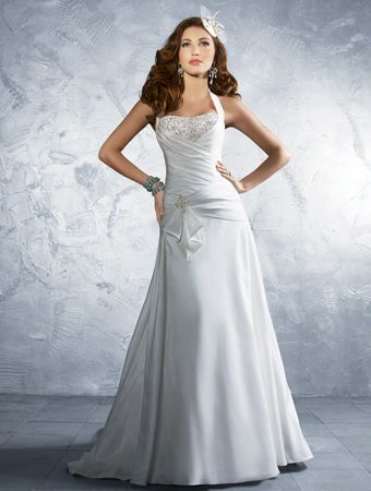 My dress- Alfred Angelo 2181c in Diamond White.