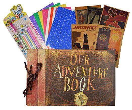Our Adventure Scrapbook Valentines Gift Idea Travel Christmas Photo Album