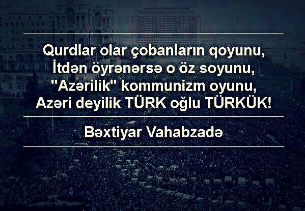 Azəri Deyilik Turk Oglu Turkuk Bəxtiyar Vahabzadə Lockscreen My Land Motherland