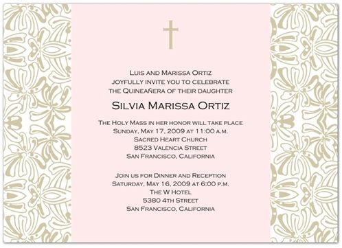 Quinceanera invitations wording for quinceanera invitations 15 lots of wording ideas and samples for quinceanera birthday party invitations stopboris Gallery