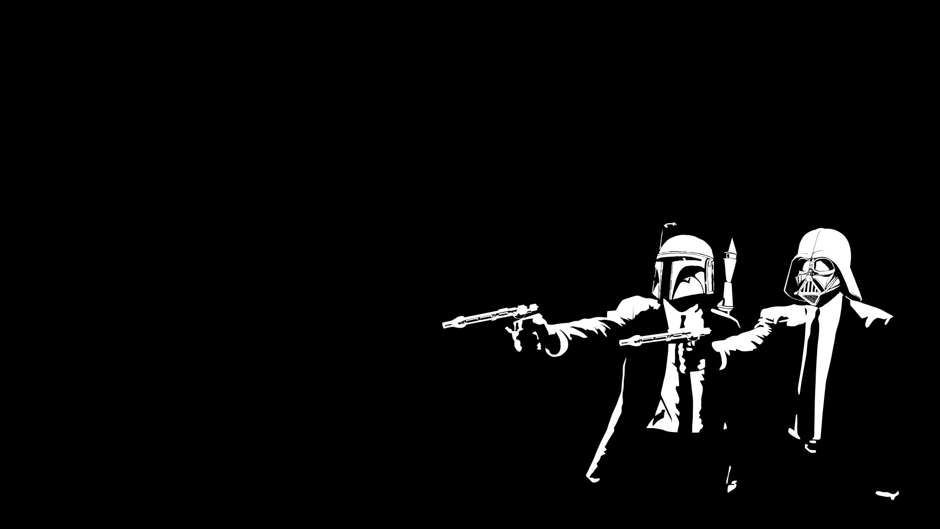 Star Wars And Pulp Fiction Anyone Star Wars Wallpaper Background Hd Wallpaper Awesome Star Wars Art