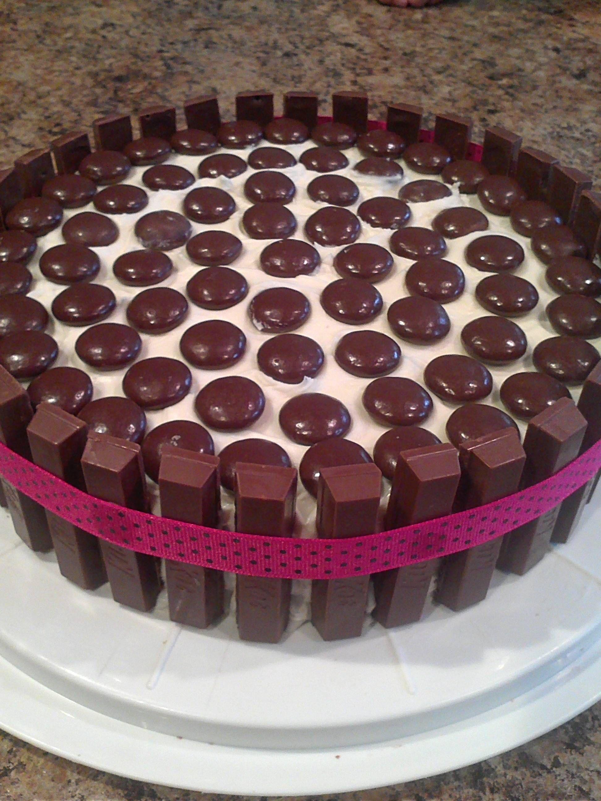 My KitKat cake(: