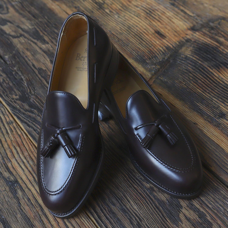 Brazowe Loafers Loafers Men Dress Shoes Men