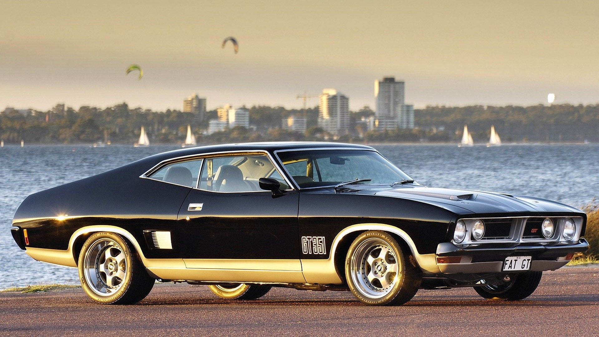 Ford Falcon Gt 351 With Images Australian Muscle Cars Ford