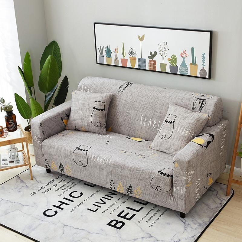 Universal Miracle Magic Easy Fit Stretchable Elastic Couch Cover Couch Protector Cover Sofa Covers In 2020 Couches Living Room Sectional Slip Covers Couch Living Room Sectional