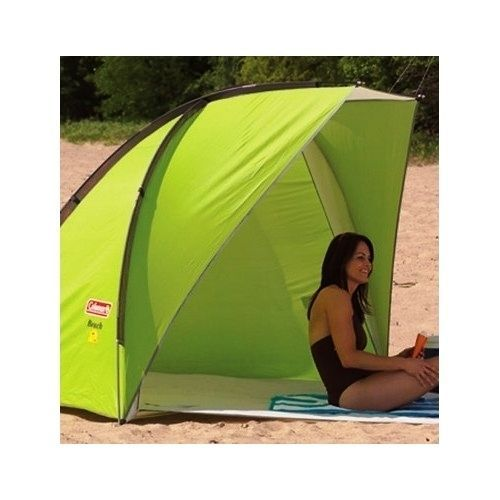 sun shelter shade tent portable outdoors camping beach compact canopy coleman