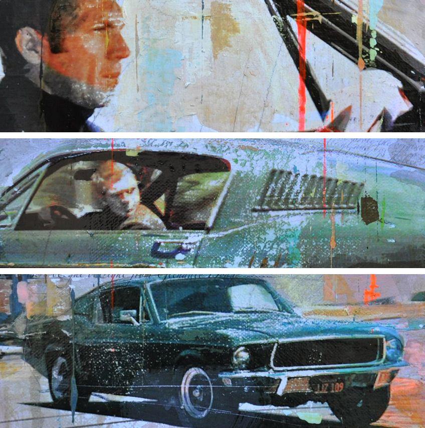 Bullitt (1968) Steve McQueen By Markus Haub