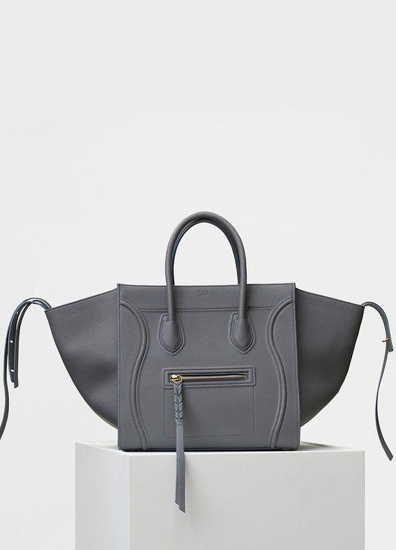 aa8cef2c0caf2 Medium Luggage Phantom Handbag in Baby Grained Calfskin - Céline ...