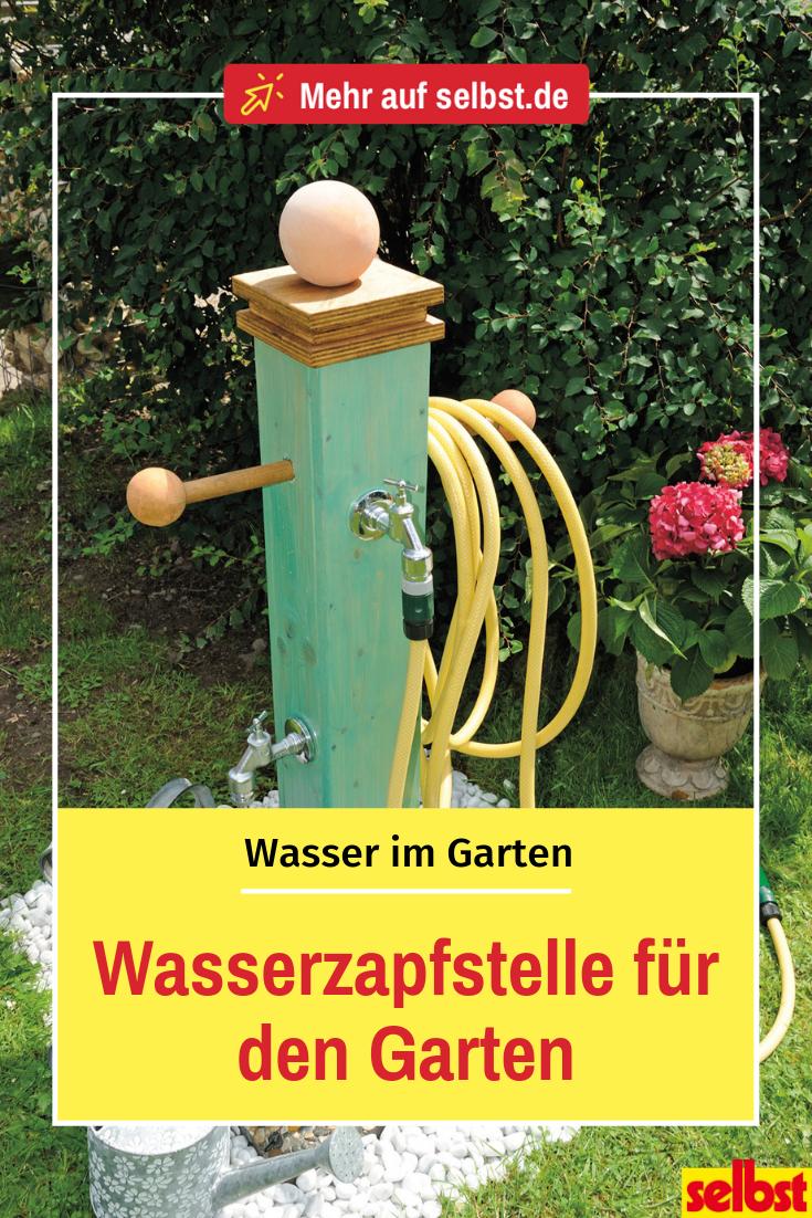 Wasserzapfstelle Fur Den Garten Selbst De Wasserzapfstelle Wasser Im Garten Wasserhahn Garten