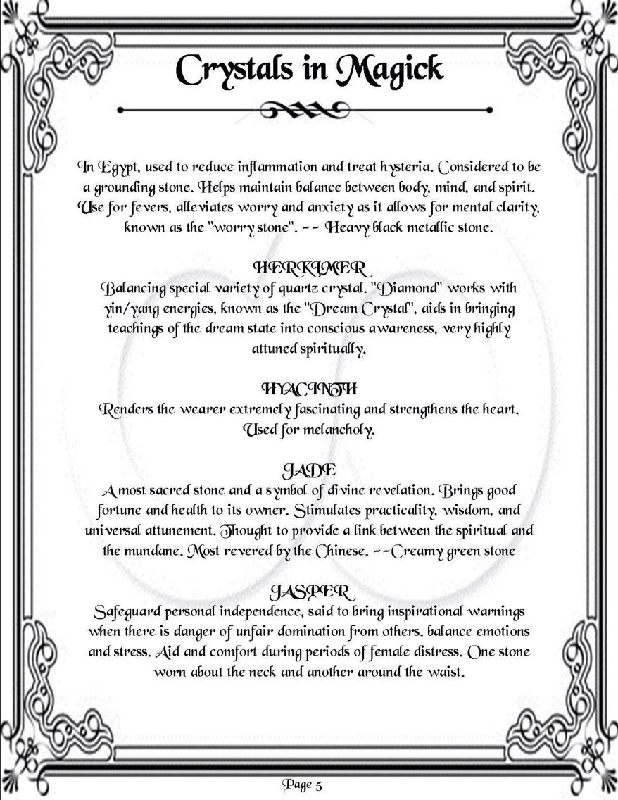 Crystals in magick page 5 of 11 via the witches witch facebook crystals in magick page 5 of 11 via the witches witch facebook page https biocorpaavc Choice Image