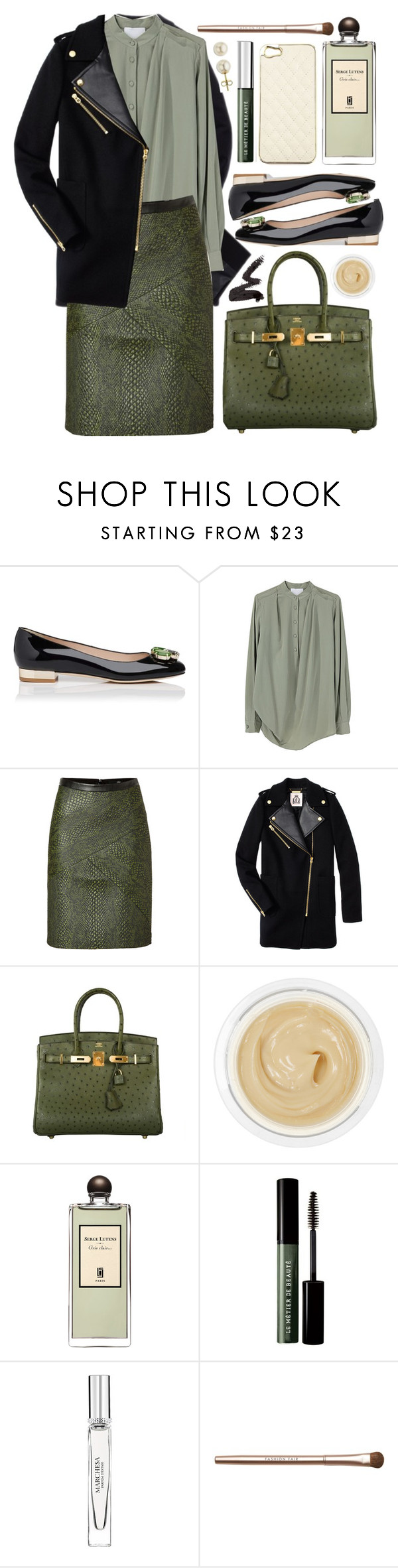 """Untitled #323"" by lagyare ❤ liked on Polyvore featuring L.K.Bennett, Superdry, 3.1 Phillip Lim, TIBI, Juicy Couture, Hermès, Chantecaille, MAKE UP FOR EVER, Serge Lutens and Le Métier de Beauté"