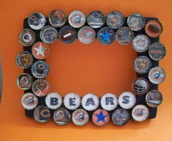 Bottlecap Frame | Craft Ideas | Pinterest | Bottle, Bears and Craft