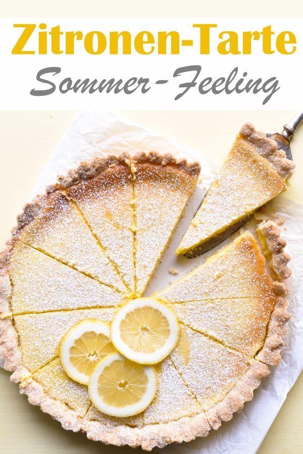 Zitronen-Tarte. Sommer-Feeling!