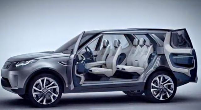 2015 Land Rover Discovery Lr4 Interior 7 Seater In Detail Vision Commerc Land Rover New Model Car Land Rover Discovery