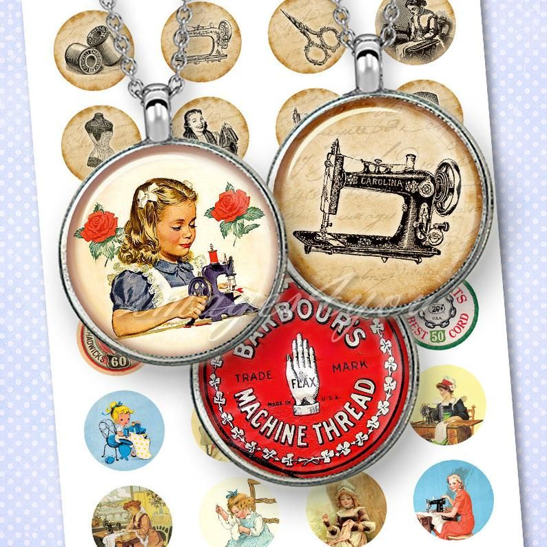 Old Fashioned Toys bottle cap images 1 inch 30mm 25mm 1.5 inch Printable round images Digital Collage Sheet Instant Download