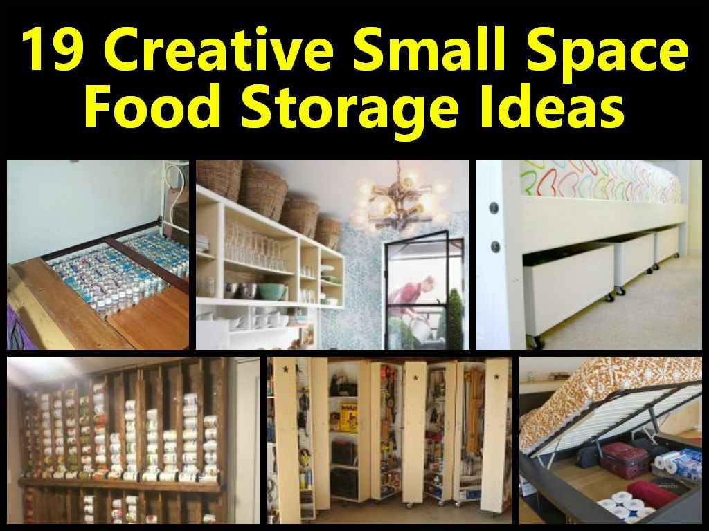 Creative Storage Ideas For Small Kitchens Part - 20: 19 Creative Small Space Food Storage Ideas