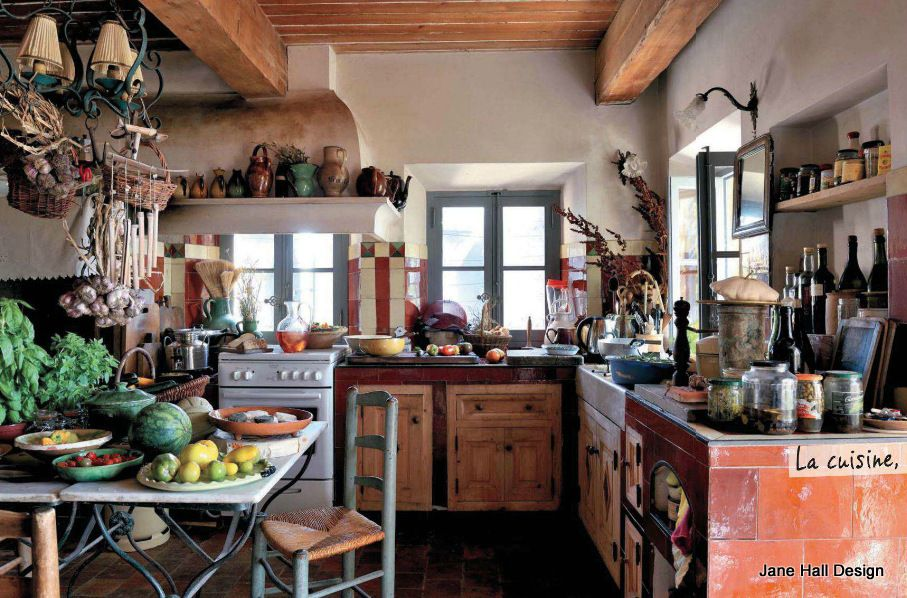 French Country home in Provence France featured in Maison Cote Sud ...
