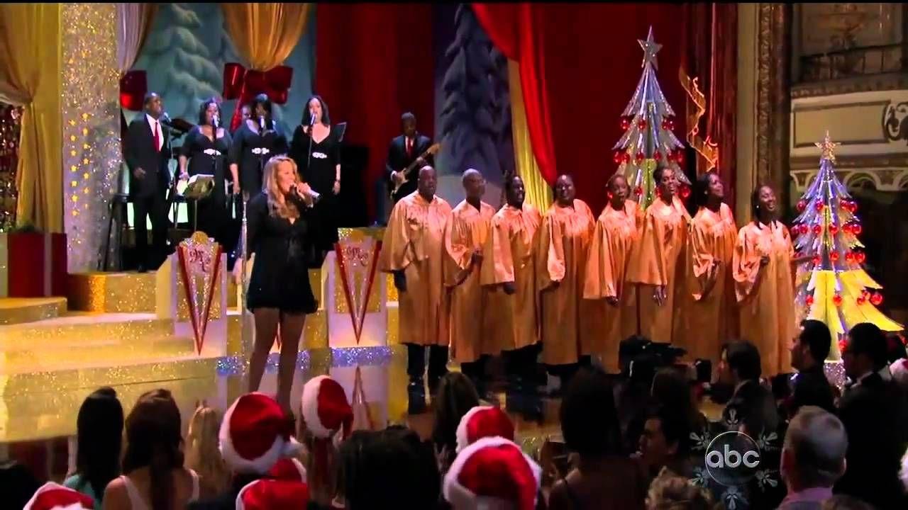 ᴴᴰ Mariah Carey Joy To The World (Live ABC Christmas
