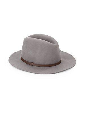 Wool Medium-Brim Hat