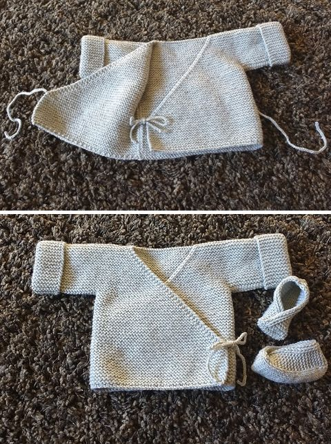 Baby Cardigan - Free Knitting Pattern   #crochetbabycardigan